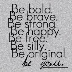 Word. Be Unique, Be you.