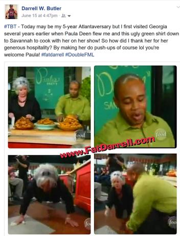 FatDarrell Paula Deen