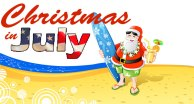 Christmas-in-July-beach