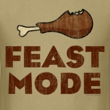 feast-mode-funny-thanksgiving-t-shirts-men-s-t-shirt