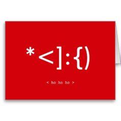 Geek-Santa-Emoticon-Funny-Christmas-Card