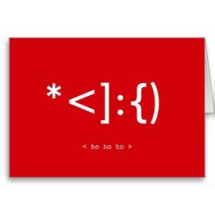 Geek-Santa-Emoticon-Funny-Christmas-Card