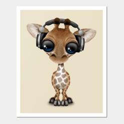 dj giraffe
