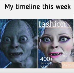 gollum fashion