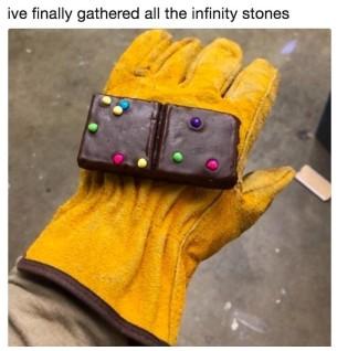 #DoubleFML infinity stone