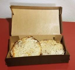 mac n cheese bagel