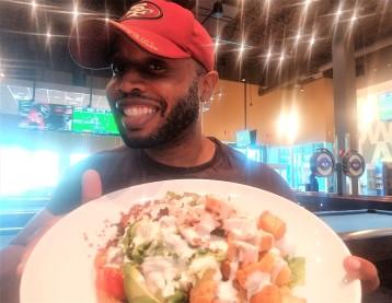 Fat Darrell salad