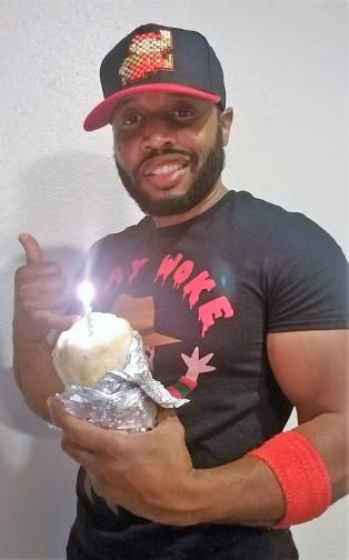 Fat Darrell burrito