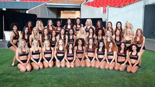 AFC Falcons Cheerleaders #DoubleFML