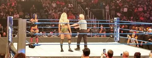 #DoubleFML WWE Sasha Charlotte
