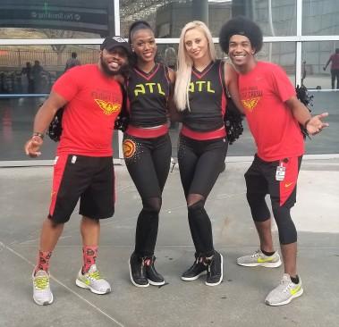 Fat Darrell ATL Hawks Dancers